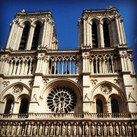 Photo taken at Cathedral of Notre Dame de Paris by Casey C. on 7/13/2013