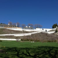 Photo taken at Fort Mackinac by Mikey M. on 5/7/2013