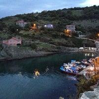 Photo taken at Garipçe by Fulya O. on 10/28/2012