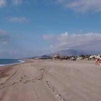 Photo taken at Playa Puerto Rey by JOSE M. on 8/21/2015