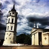 Photo taken at Cathedral Square by Wojciech B. on 6/23/2013