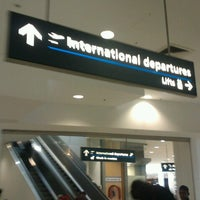 Photo taken at T1 International Terminal by Fiona K. on 10/7/2012
