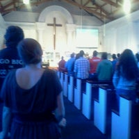 Photo taken at BCF Chapel by Mike B. on 10/8/2012