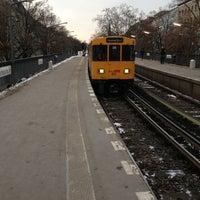 Photo taken at U Schlesisches Tor by Matthias R. on 1/20/2013