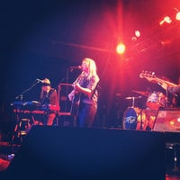 Photo taken at Brighton Music Hall by Nicole on 12/12/2012