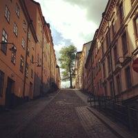 Photo taken at Mariaberget by Kurt Beren Geiger on 9/5/2013