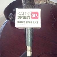 Photo taken at Radio Sport Chile by Patricio Javier O. on 4/7/2014
