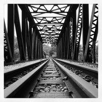 Photo taken at Railway Bridge (Upper Bukit Timah Road) by Gerald H. on 1/26/2014