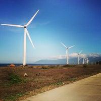 Photo taken at Bangui Windmills by 吳泳栽 on 1/8/2013