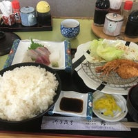 Photo taken at お食事処 秀 by ふみ ふ. on 9/10/2017