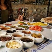 Photo taken at Fethiye Kayaköy Yalçın Restaurant by Esra T. on 1/4/2018