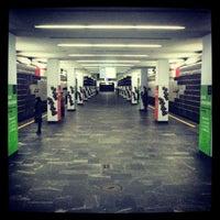 Снимок сделан в Станция метро «Немига» пользователем Elena S. 11/7/2012