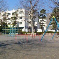 Photo taken at 東神奈川公園 by Shinichi A. on 3/18/2014