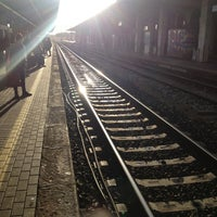 Photo taken at Stazione Rimini by Лидия on 1/22/2013