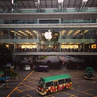 Photo taken at Apple ifc mall by 遊上 y. on 5/2/2013