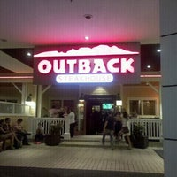 Photo taken at Outback Steakhouse by Sonia G. on 10/3/2012