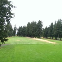 Photo taken at Glendoveer Golf Course by Albert C. on 9/22/2014