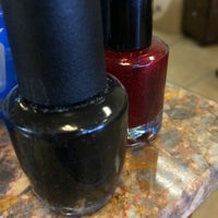 Photo taken at Classy Nails by Mary E. on 9/19/2014