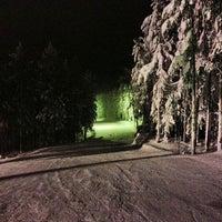 Снимок сделан в ГЛК Гора Пильная пользователем Medved01 К. 1/13/2013