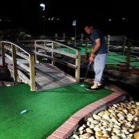 Photo taken at Adventure Golf by Jamie G. on 6/11/2013