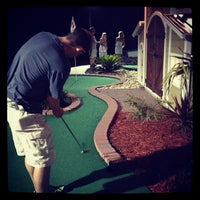 Photo taken at Adventure Golf by Jamie G. on 6/12/2013