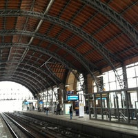Photo taken at Bahnhof Hamburg Dammtor by Burkhardt M. on 1/22/2013