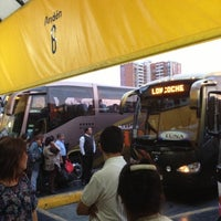 Photo taken at Terminal de Buses Santiago by Vicman on 12/15/2012