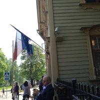Photo taken at Villa Margaretha Hotel Tartu by Andy on 5/18/2013