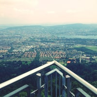 Photo taken at Uetliberg Aussichtsturm by Florian F. on 7/7/2013