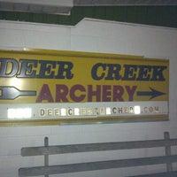 Photo taken at Deer Creek Archery by Freddie on 2/1/2013