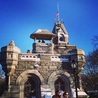 Photo taken at Belvedere Castle by Danielle M. on 2/9/2013
