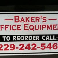 Photo taken at Baker's Office Equipment by Skate P. on 7/12/2013
