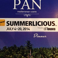 Photo taken at Pan on the Danforth by Michelle B. on 7/7/2014
