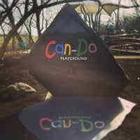 Photo taken at Can-Do Playground by Tim F. on 4/2/2015