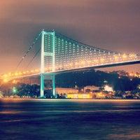 Photo taken at Bosphorus Bridge by Ilker Saygı B. on 7/27/2013