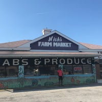 Photo taken at Nick's Farm And Crab Market by Faith on 9/30/2018