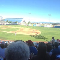 Photo taken at Avista Stadium by Daniela G. on 8/18/2013