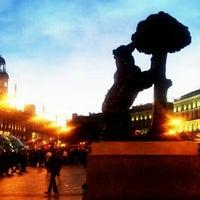 Снимок сделан в Estatua del Oso y el Madroño пользователем Fernando B. 10/1/2012