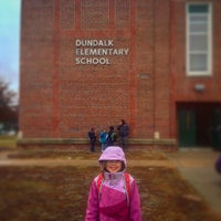 Photo taken at Dundalk Elementary School by Jason B. on 1/3/2017