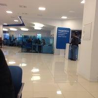 Photo taken at Finansbank by Cevat C. on 10/31/2013
