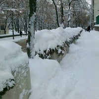 Снимок сделан в Павлівський сквер пользователем Dmitry I. 12/13/2012