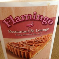 Photo taken at Flamingo Restaurant and Lounge by Dan D. on 7/13/2013