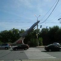 "Photo taken at Памятник ""Самолет"" by Алексей О. on 9/15/2012"