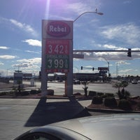 Photo taken at Rebel Gas Station & Convenience Store by Rob M. on 2/9/2013