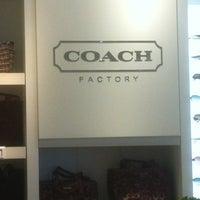 Photo taken at Coach Factory by Warren on 11/15/2012