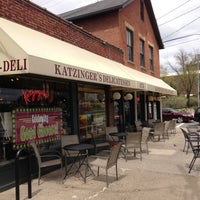 Photo taken at Katzinger's Delicatessen by Rhettest In Room on 4/20/2013