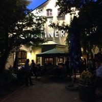 Photo taken at Augustiner-Keller by Ben on 9/27/2014