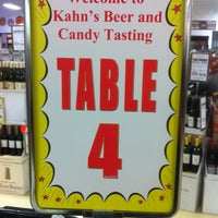 Photo taken at Kahn's Fine Wines And Spirits by Cheryl M. on 10/26/2013