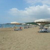 Photo taken at BOTAŞ Plajı by Arda Y. on 7/7/2013