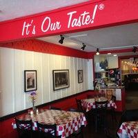Photo taken at Greek's Pizzeria by Jeffrey W. on 2/9/2013